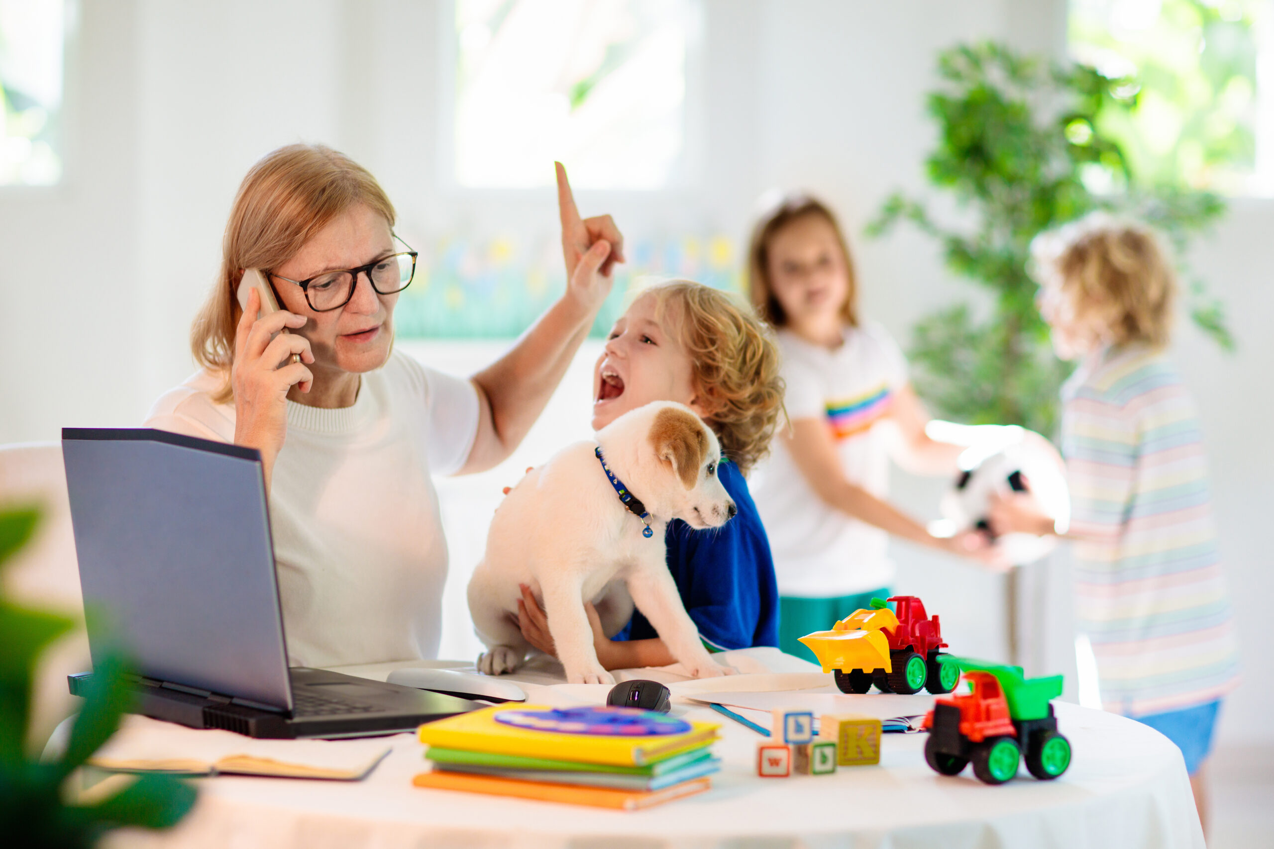 alternative to on-line learning that works with home environments